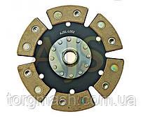 Диск сцепления керамический ВАЗ 2112 6 лепестков, бездемпфер, металлокерамика AJS