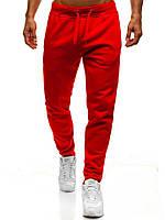 Спортивные штаны мужские качественные осенние/весенние, цвет красные