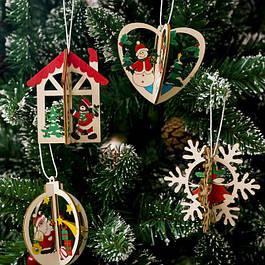 Новый год. игрушки, декор и ели