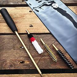 Набор для чистки огнестрельного оружия 9 мм (ПВХ чехол)