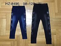 Лосины утепленные для девочек оптом, Glass Bear, 98-128 см,  № HZ-8496, фото 1