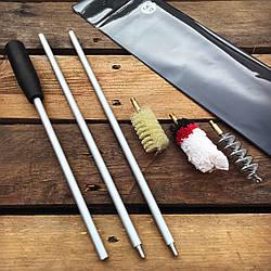 Набор для чистки охотничьего оружия 12 калибр (ПВХ чехол)