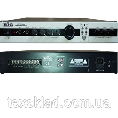 Трансляционный усилитель с тороидальным блоком питания UNIT-120 -3zone USB/MP3/FM/BT/REMOTE
