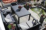 Allibert Corfu Fiesta Set садові меблі з штучного ротанга, фото 10