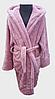 Халат детский махровый 2 года  Welsoft (TM Zeron), розовый Турция