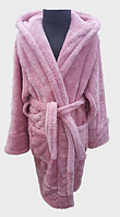 Халат детский махровый 2 года  Welsoft (TM Zeron), розовый Турция, фото 1