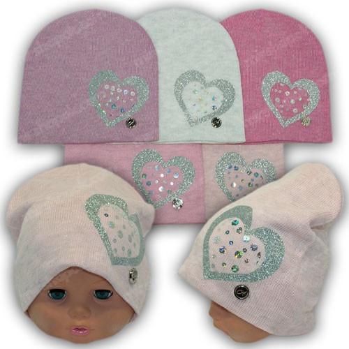 Детская шапка вязаная р. 46-48