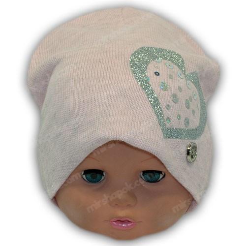 Детская шапка вязаная