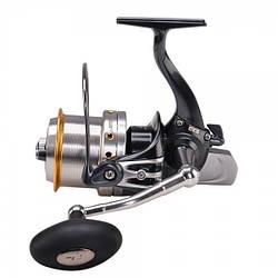 Катушка Tica Samira Long Сast SBAT5000 (13+1BB, 4.1:1) для карповой и морской рыбалки с быстрым фрикционом