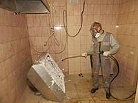 Кислотная чистка профессиональных жироуловителей. Киев