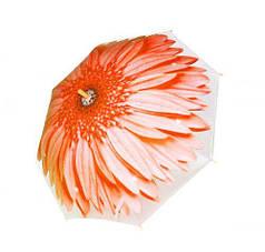 Зонт Цветок UM5491 оранжевый.