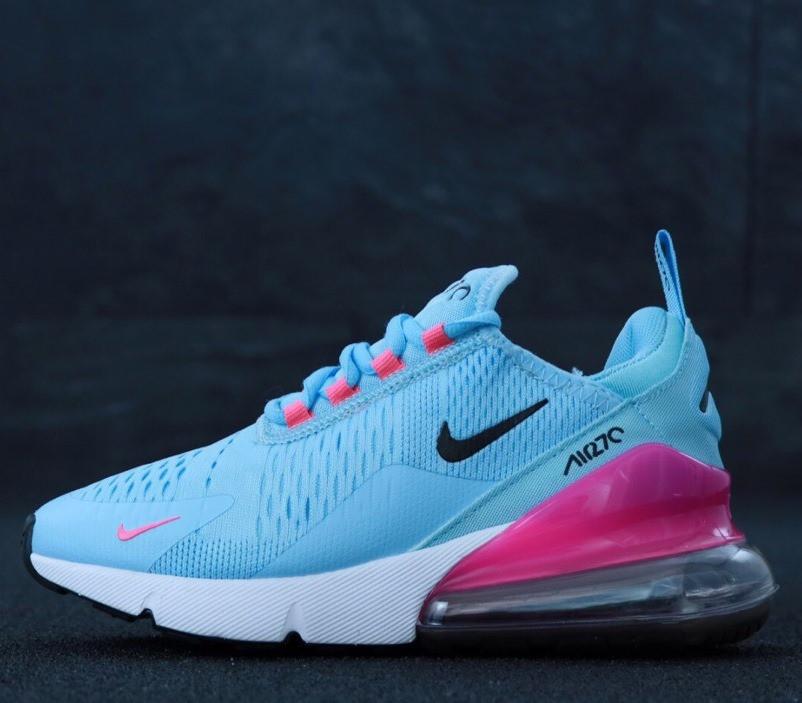 Женские Кроссовки Nike Air Max 270 Grey Pink