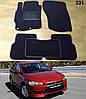 Коврики на Mitsubishi Lancer X (10), Evo X, Sb '07-. Текстильные автоковрики