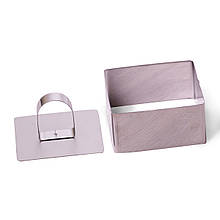 Форма Kamille для викладки/вирубки квадратна 8*8*4.5 см з кришкою