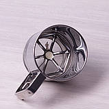 Кружка-сито Kamille для просеивания муки с одинарным ситовым дном, фото 3