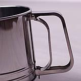 Кружка-сито Kamille для просеивания муки с одинарным ситовым дном, фото 5