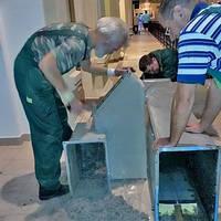 Устранение жира в воздуховодах системы вентиляции. Киев