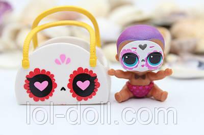 Кукла LOL Surprise 4 Серия Lil Bebe Bonito - Under Wraps Лол Сюрприз Без Шара Оригинал