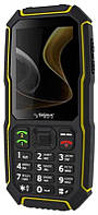 Мобильный телефон Sigma mobile X-treme ST68 Dual Sim Black/Yellow; 2.8 (320х240) TN / клавиатурный моноблок / MediaTek MT6260 / microSD до 32 ГБ /