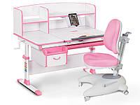 Комплект Evo-kids (стол+ящик+надстройка+кресло) Evo-50 PN (Pink)