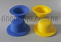 Шляпка фетровая 13,5см внутр.Ø8,5 1шт