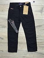 Утепленные катоновые брюки на флисе. 110 рост.