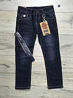 Утепленные джинсы на флисе. 110- 116 рост.