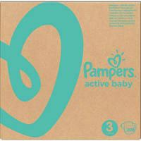 Подгузник Pampers Active Baby Midi Размер 3 (6-10 кг), 208 шт. (8001090910745)