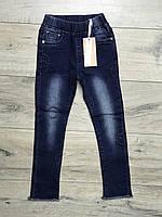 Стрейчевые джинсы для девочек. 110- 116 рост.