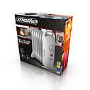 Обогреватель маслянный Mesko MS 7804 на 7 секций мощность 700w, фото 2