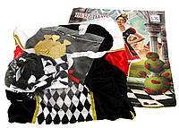"""R3-380052, Карнавальный женский костюм """"Червовая королева"""" черный- красный, женский, черный-красный"""