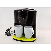Капельная кофеварка Crownberg CB-1560 кофе машина 800BT 600ВТ