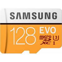 Карта памяти Samsung 128GB microSD class 10 UHS-I U3 Evo (MB-MP128GA/APC)