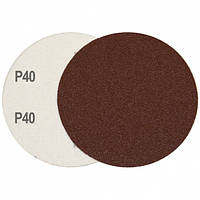 Круг шлифовальный на липучке Velcro Polystar Abrasive 125 мм, P40