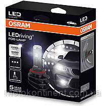 H10 OSRAM FOG LAMP светодиодные лампы в ПТФ (противотуманки) OSRAM LEDriving Retrofit FOG LAMP H10 9645CW, фото 3