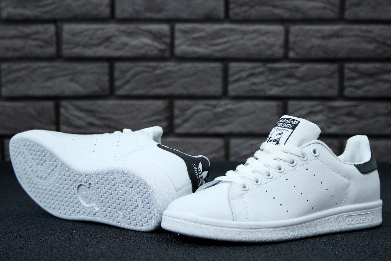 Женские кроссовки Adidas Stan Smith White, фото 1