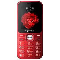 Мобильный телефон Sigma X-Style 32 Boombox Red (4827798524329)