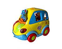 Музыкальная развивающая игрушка HOLA Автошка Разноцветный (1998)