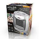 Керамический тепловентилятор Adler AD 7703 напольный, бытовой мощность 750-1500вт, фото 4