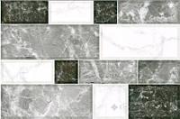 Плитка Интеркерама Грани 23x35 светло-серый (71)
