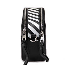 Женская сумка кросс-боди David Jones 13 х 21 х 7 см Черная (dj6169-1/1), фото 2