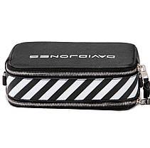 Женская сумка кросс-боди David Jones 13 х 21 х 7 см Черная (dj6169-1/1), фото 3