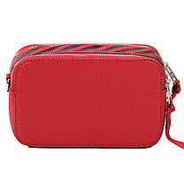 Женская сумка кросс-боди David Jones 13 х 21 х 7 см Красный (dj6169-1/2), фото 3