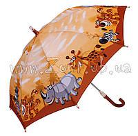 Детский зонт Zest Зоопарк со СВЕТОДИОДАМИ ( механика ) арт. 21551-9