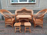 Набор мебели из лозы