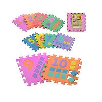 Детский развивающий коврик-мозаика Цифры (DR.007)