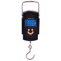 Весы электронные кантер с подсветкой 602L 50 кг Black (GOVT567)