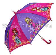 Детский зонт Zest Принцессы со СВЕТОДИОДАМИ (механика) арт. 21551-11