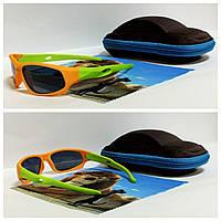 Очки солнцезащитные с поляризацией гибкая оправа ( код 5025)