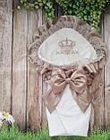 Конверт с вышивкой  для новорожденных весна-лето-осень,   78*78 см, фото 4